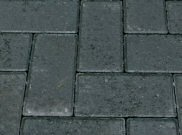 50mm pavers: Charcoal 50mm block paver