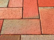 Clay pavers: Clay brindle paver 9.28m2 pack