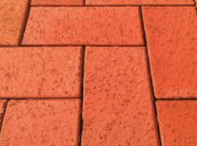Clay pavers: Clay red paver 9.28m2 pack