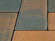 Trade pavers: Trade chestnut 50mm block paver