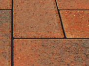 Trade pavers 50mm & 60mm: Trade brindle 60mm block paver