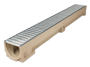 Paving accessories: Paver drainage channel