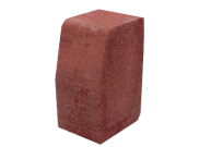 Paving accessories: Ks kerb large 200mm x 100mm red