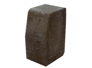 Paving accessories: Kl kerb large 200mm x 100mm x 150mm charcoal
