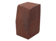 Paving accessories: Kl kerb large 200mm x 100mm x 150mm brindle