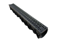 Paving accessories: Poly paver drainage channel