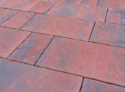 Balmoral patio paving kits: Balmoral brindle riven paving pack 7.68mtr2