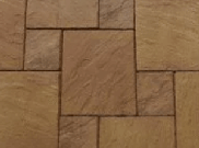 Patio paving kits dutch pattern: Dutch burnt sienna 5.76mtr2 dutch pattern paving