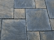 Patio paving kits dutch pattern: Rutland winter 5.76mtr2 dutch pattern paving
