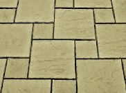 Patio paving kits dutch pattern: Courtyard 5.76mtr2 dutch pattern paving