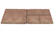Patio paving kits random pattern: Mellow 5.63mtr2 random pattern