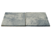 Paving slabs 450mm x 450mm: Bronte weathered stone slab 450mm x 450mm