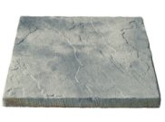 Paving slabs 600mm x 600mm: Bronte weathered stone slab 600mm x 600mm