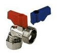 Plumbing fittings: Washing machine iso 90anddeg; 15mm