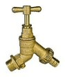 Plumbing fittings: External bib tap Double check valve
