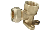 Plumbing fittings: Bib tap wall plate 15mm