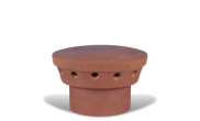 Roof slates tiles: Chimney pepper pot 190mm spigot