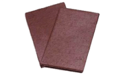 Roof slates tiles: Clay creasing tile plain blue
