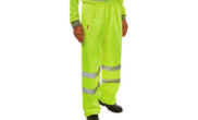 Safety wear: Safety hi vis trousers