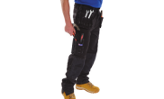 Safety wear: Multi pocket work trousers