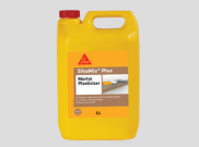 Sealants adhesives: Mortar plasticiser 5ltr