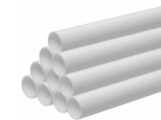 Soil pipe accessories: Waste pipe 40mm x 3mtr white