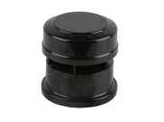 Soil pipe accessories: Air admittance valve black