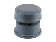 Soil pipe accessories: Air admittance valve grey