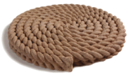 Stepping stones: Bath rope stepping stone 440mm diamiter