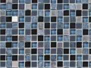 Mosaic tiles: Stone grey mosaic 300mm x 300mm