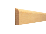Architrave: Bullnose architrave 46mm x 15mm x 2.1mtr