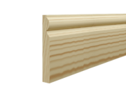 Skirting board: Torus skirting 120mm x 15mm x 3mtr