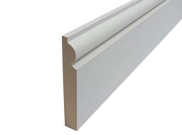 Skirting board: Torus mdf skirting 119mm x 18mm x 2.4mtr