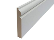 Skirting board: Torus mdf skirting 119mm x 18mm x 3mtr