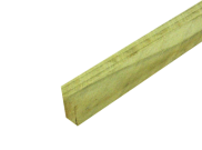 Tanalised Timber : Tanalised E Green Timber 47mm x 100mm x 2.4mtr