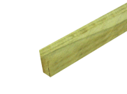 Tanalised timber: Tanalised e-green timber 47mm x 150mm x 3mtr