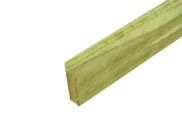 Tanalised Timber : Tanalised E Green Timber 47mm x 200mm x 4.8mtr