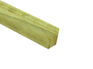 Tanalised timber: Tanalised e-green timber 75mm x 100mm x 4.8mtr