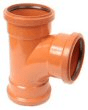 Underground drainage: 87.5° 3 socket junction