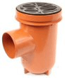 Underground drainage: Plain bottle gully