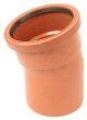 Underground drainage: 15° single socket bend