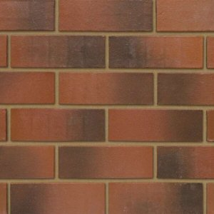Imperial bricks: callerton weathered red 73mm imperial brick
