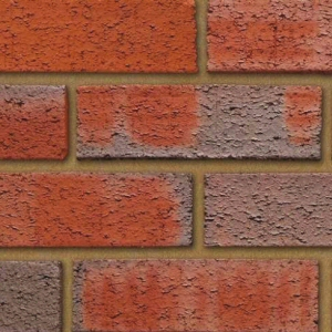 Special offer bricks: rough red multi non standard 65mm brick