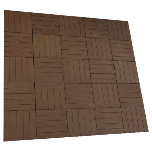 Circle paving packs: deck paving kit brown oak