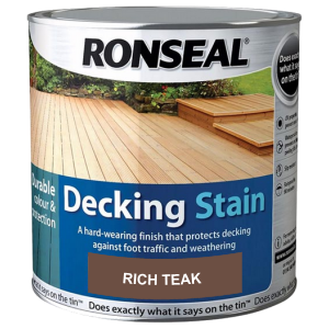 Decking Stain Rich Teak 2.5ltr