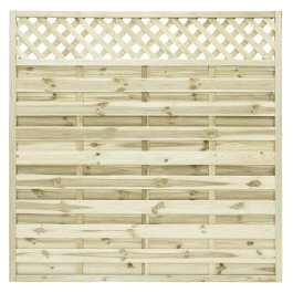Fence panels trellis: elite st malo fence panel 1.8mtr x 1.8mtr