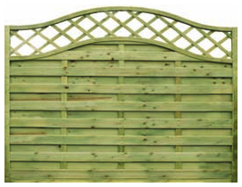 Fence panels trellis: elite st meloir fence panel 1.8mtr x 1.8mtr