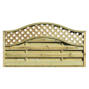 Fence panels trellis: elite st meloir fence panel 1.8mtr x 1050mm
