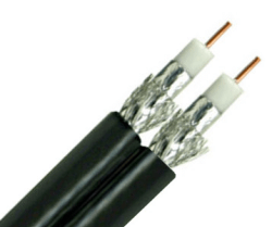 Dual Coaxial Cable 10mtr