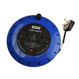 Extension Reel 10mtr 2 Gang